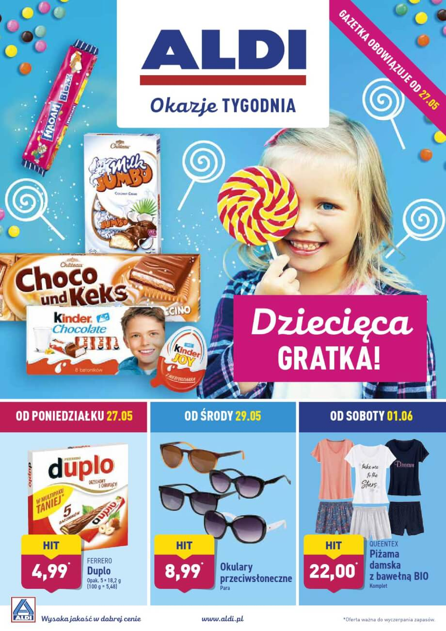 Aldi, gazetka do 02.06.2019  s1