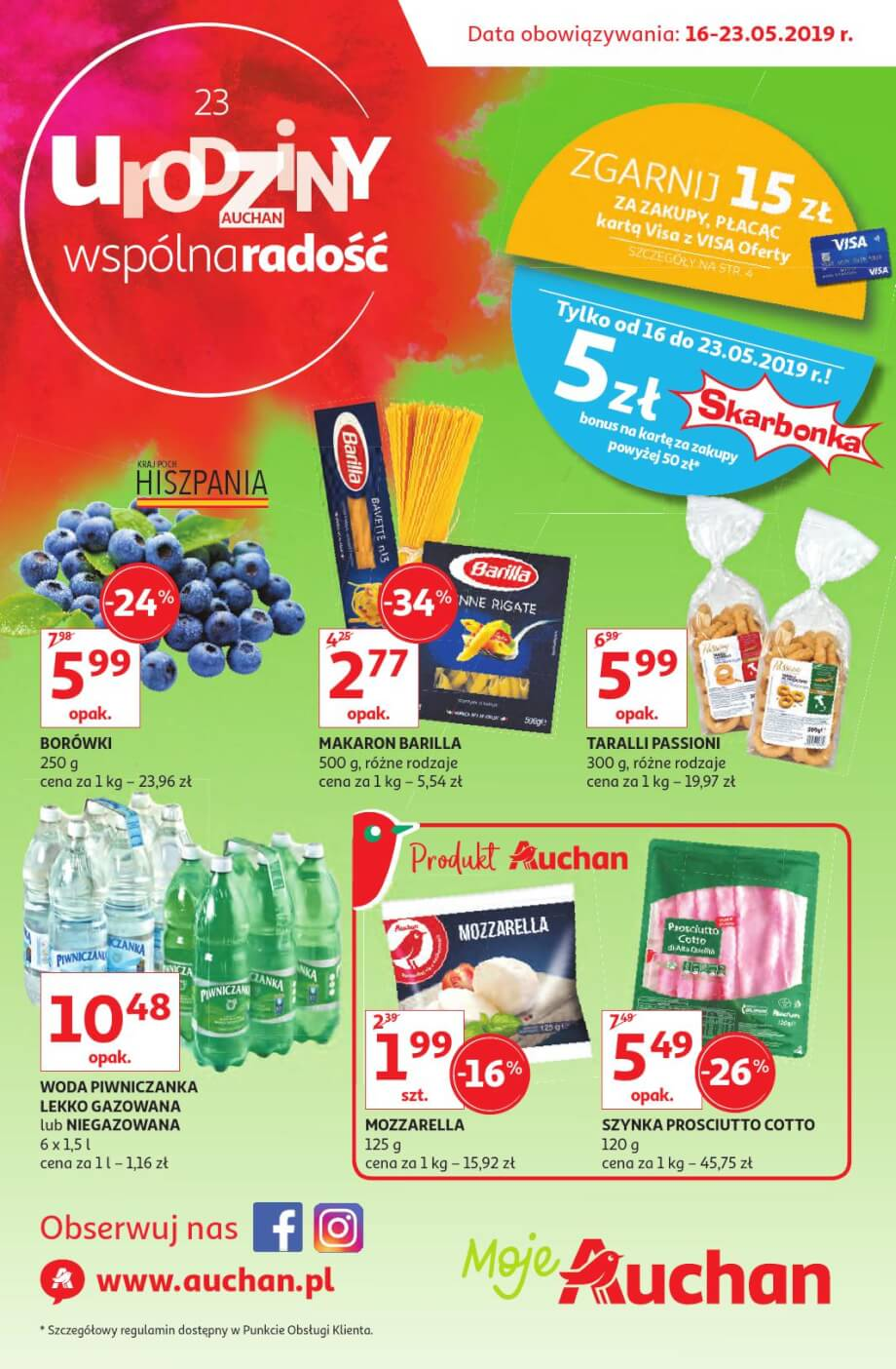 Auchan, gazetka do 01.06.2019  s1