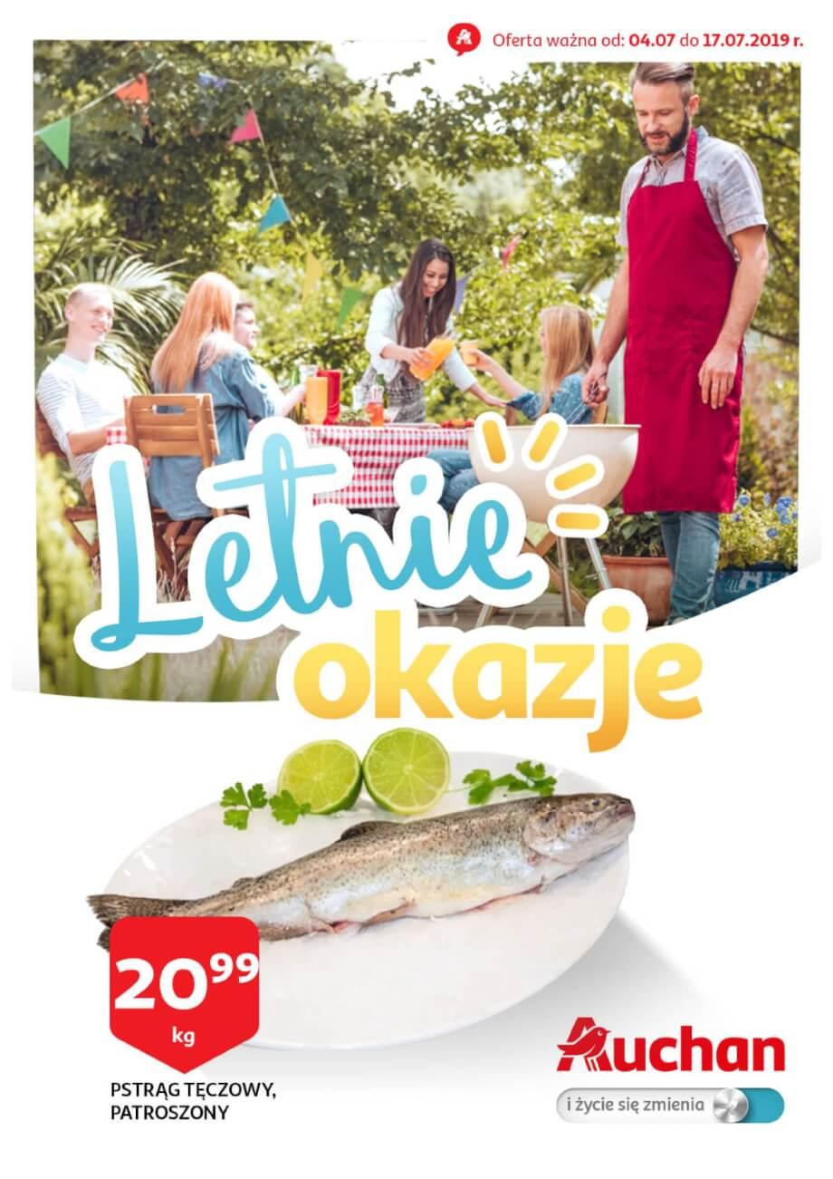 Auchan, gazetka do 17.07.2019  s1