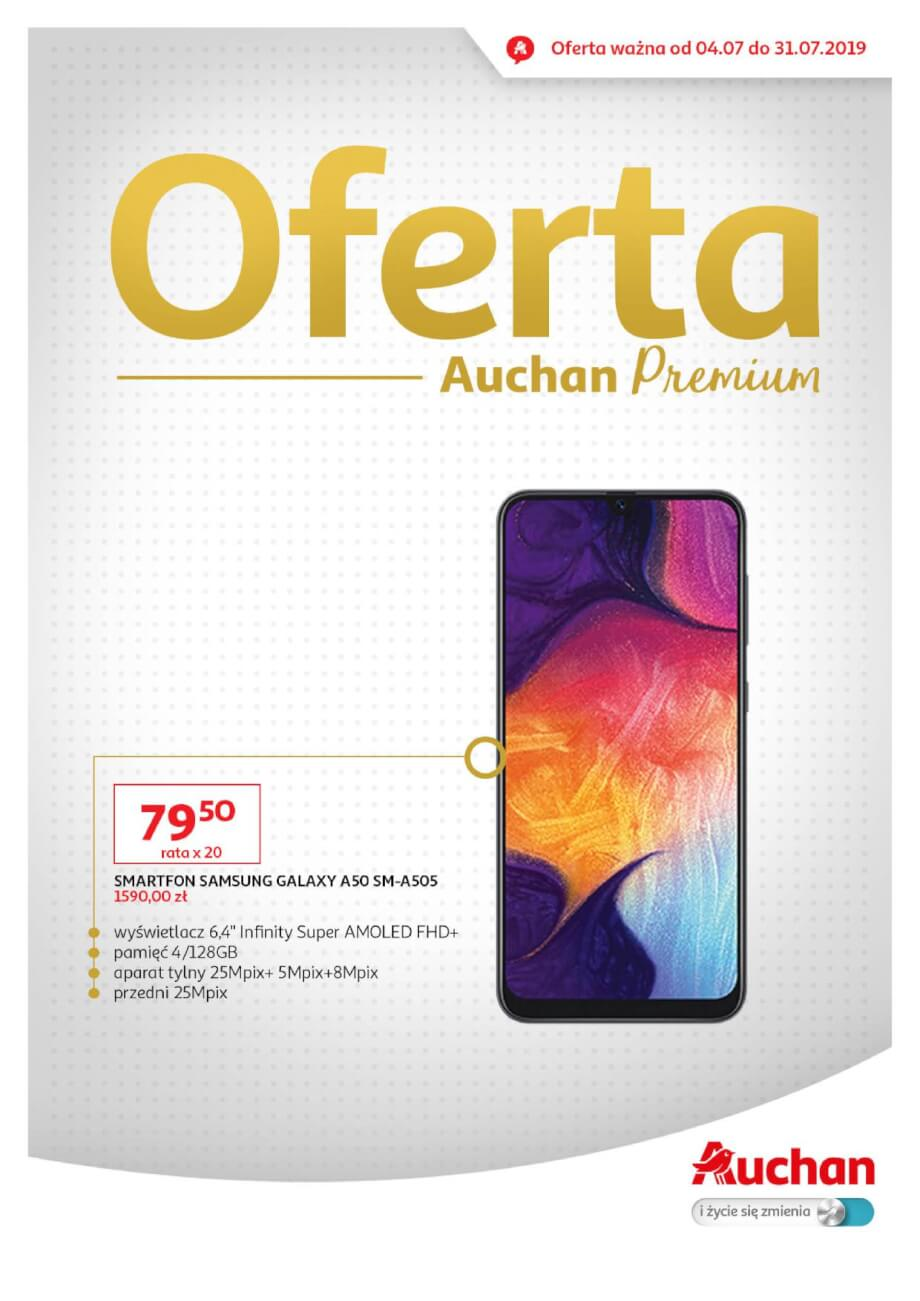 Auchan, gazetka do 31.07.2019  s1