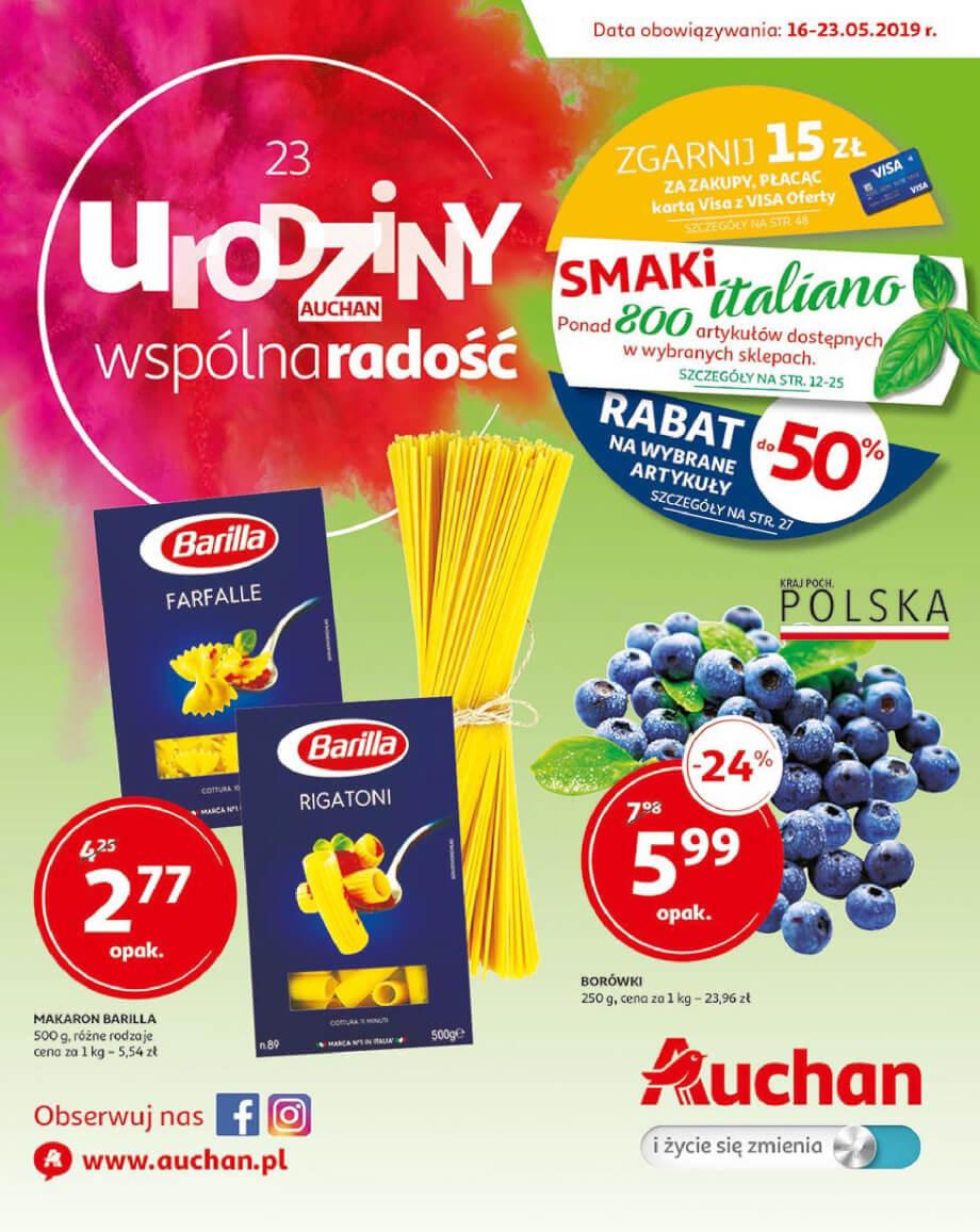 Auchan, gazetka do 23.05.2019  s1