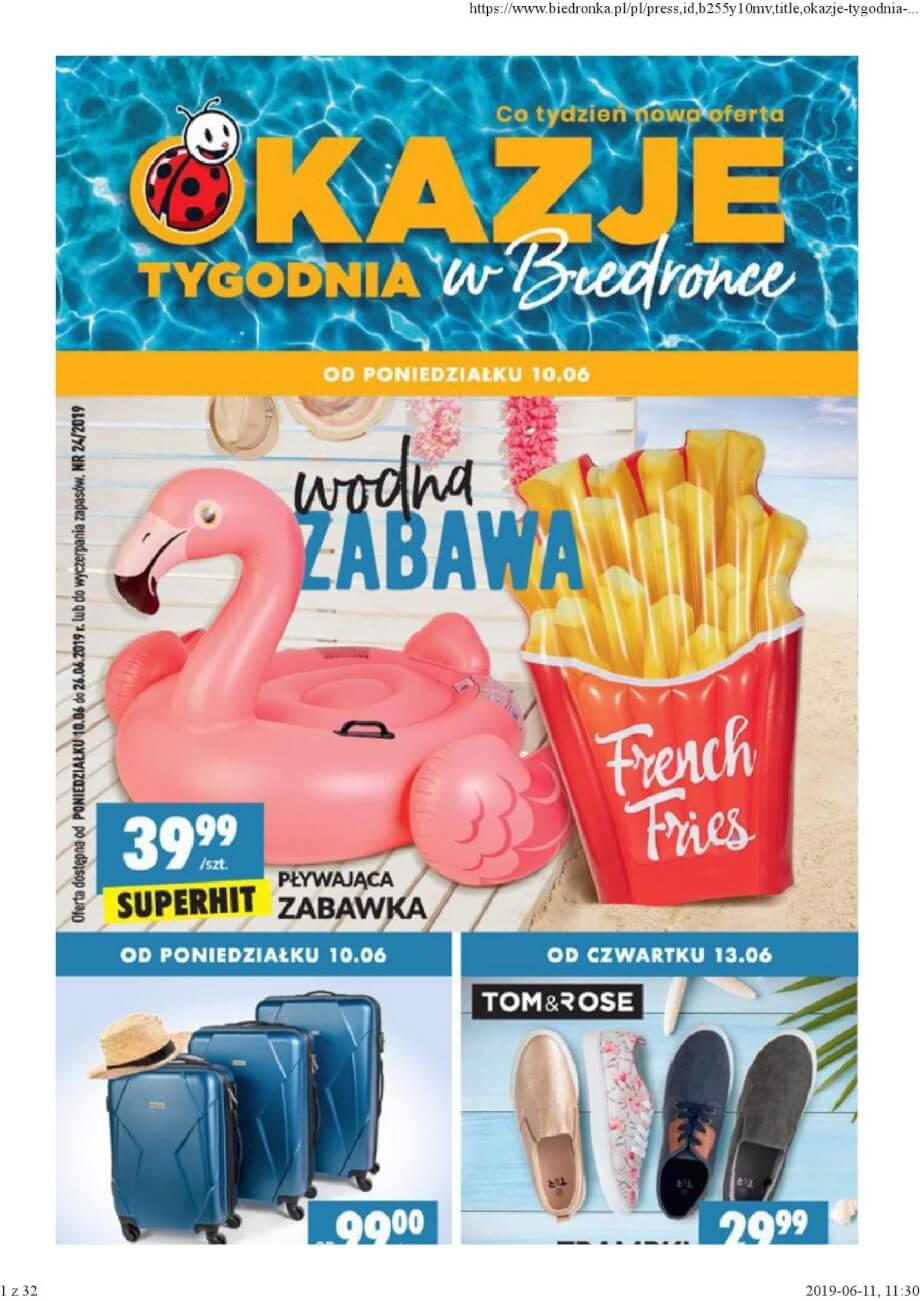 Biedronka, gazetka do 26.06.2019  s1