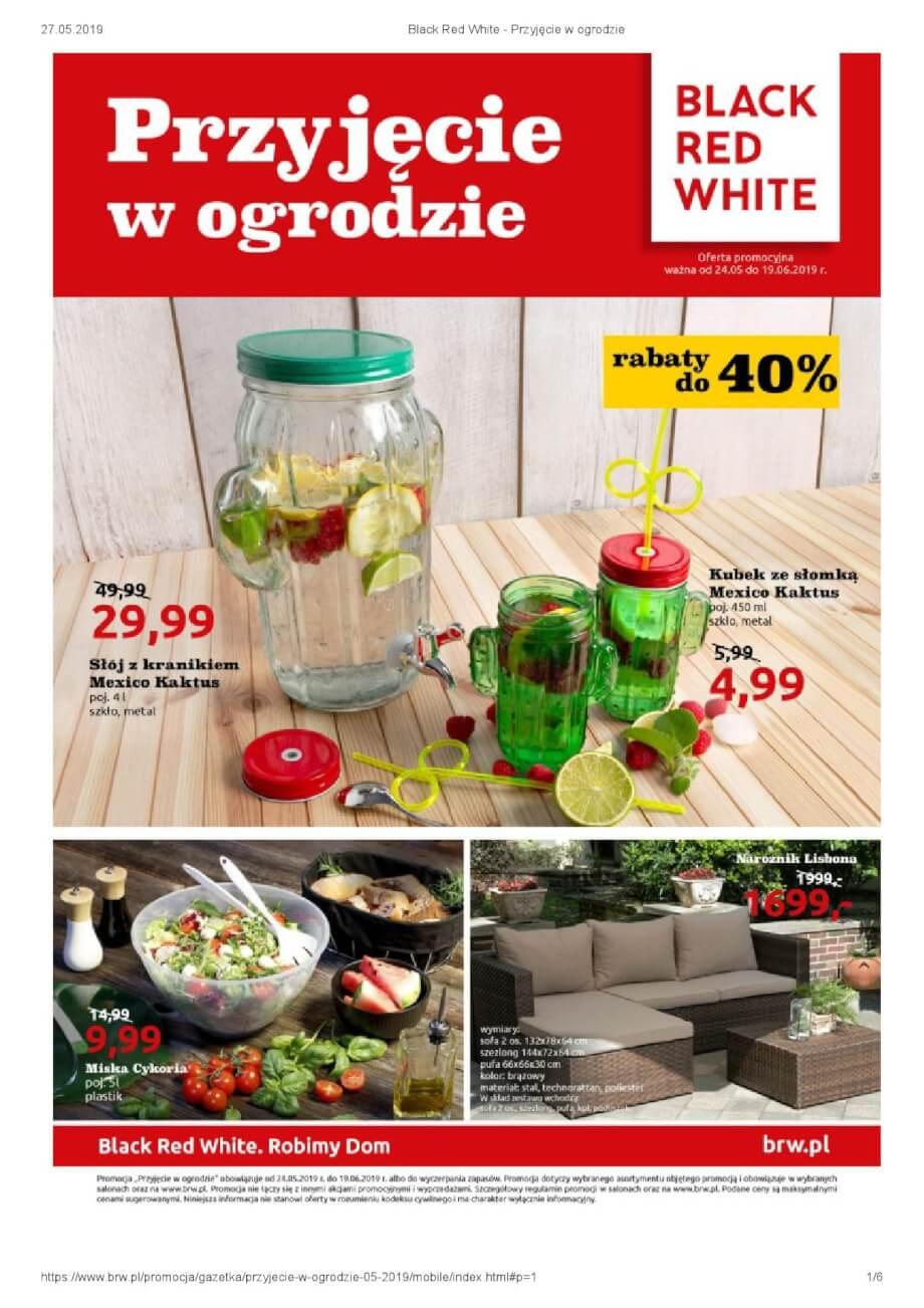 Black Red White, gazetka do 19.06.2019  s1