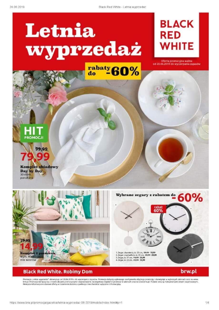 Black Red White, gazetka do 07.07.2019  s1