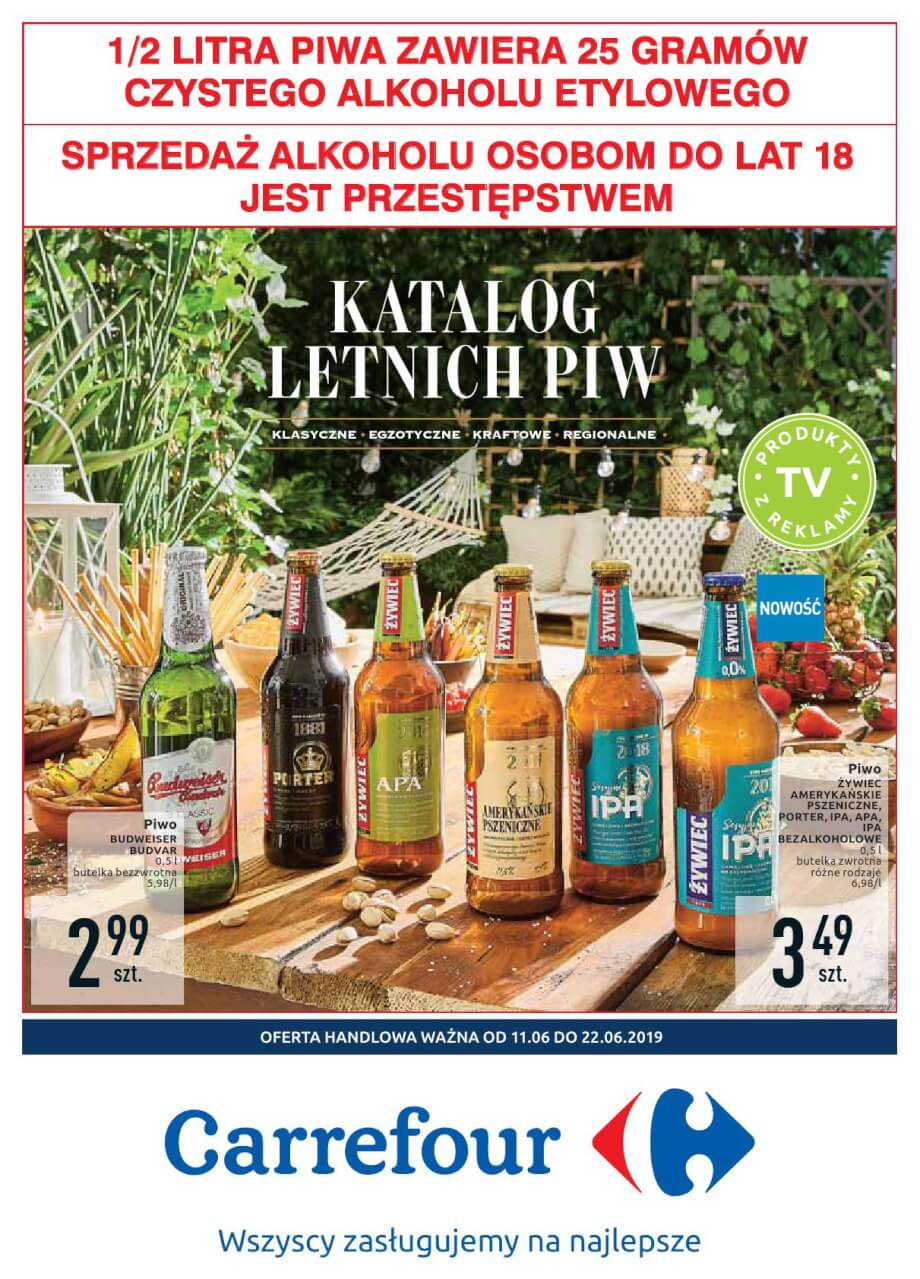 Carrefour, gazetka do 22.06.2019  s1