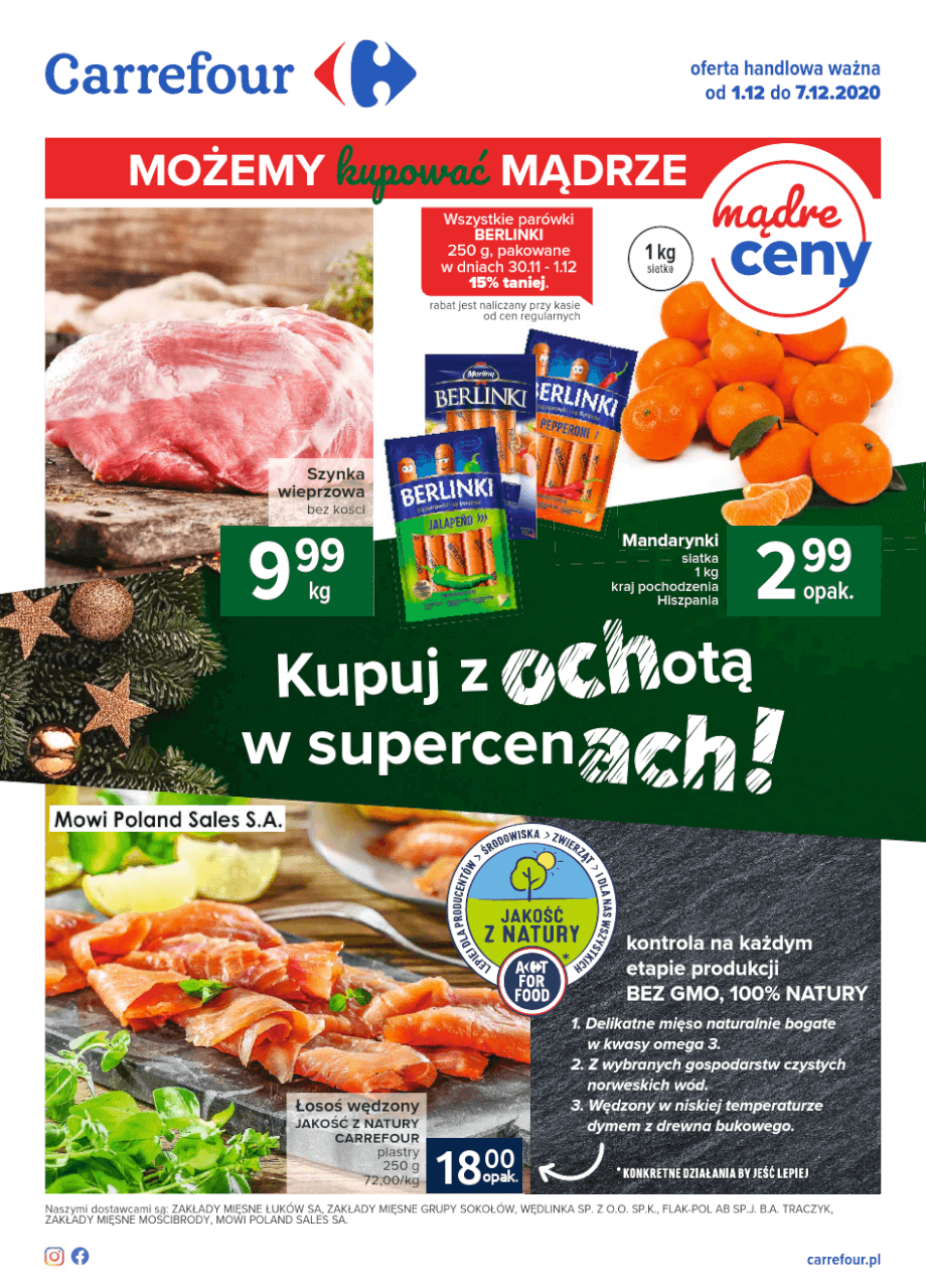 Carrefour, gazetka do 07.12.2020  s1