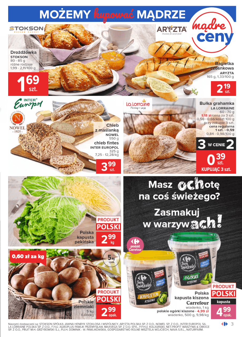 Carrefour, gazetka do 16.11.2020 str.3  s3