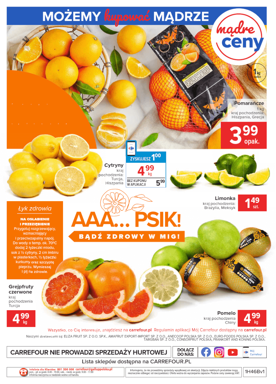 Carrefour, gazetka do 16.11.2020 str.4  s4