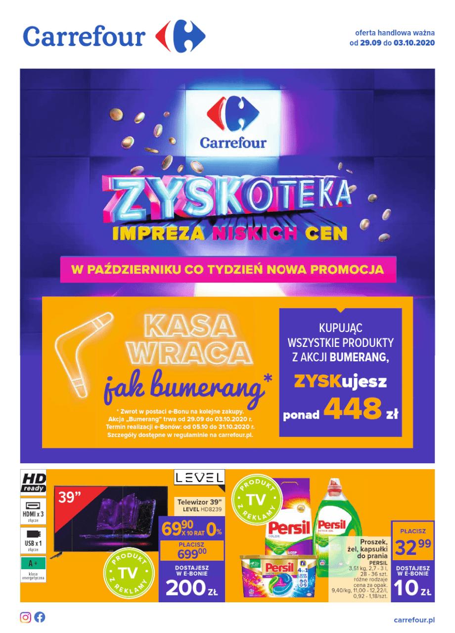 Carrefour, gazetka do 03.10.2020  s1