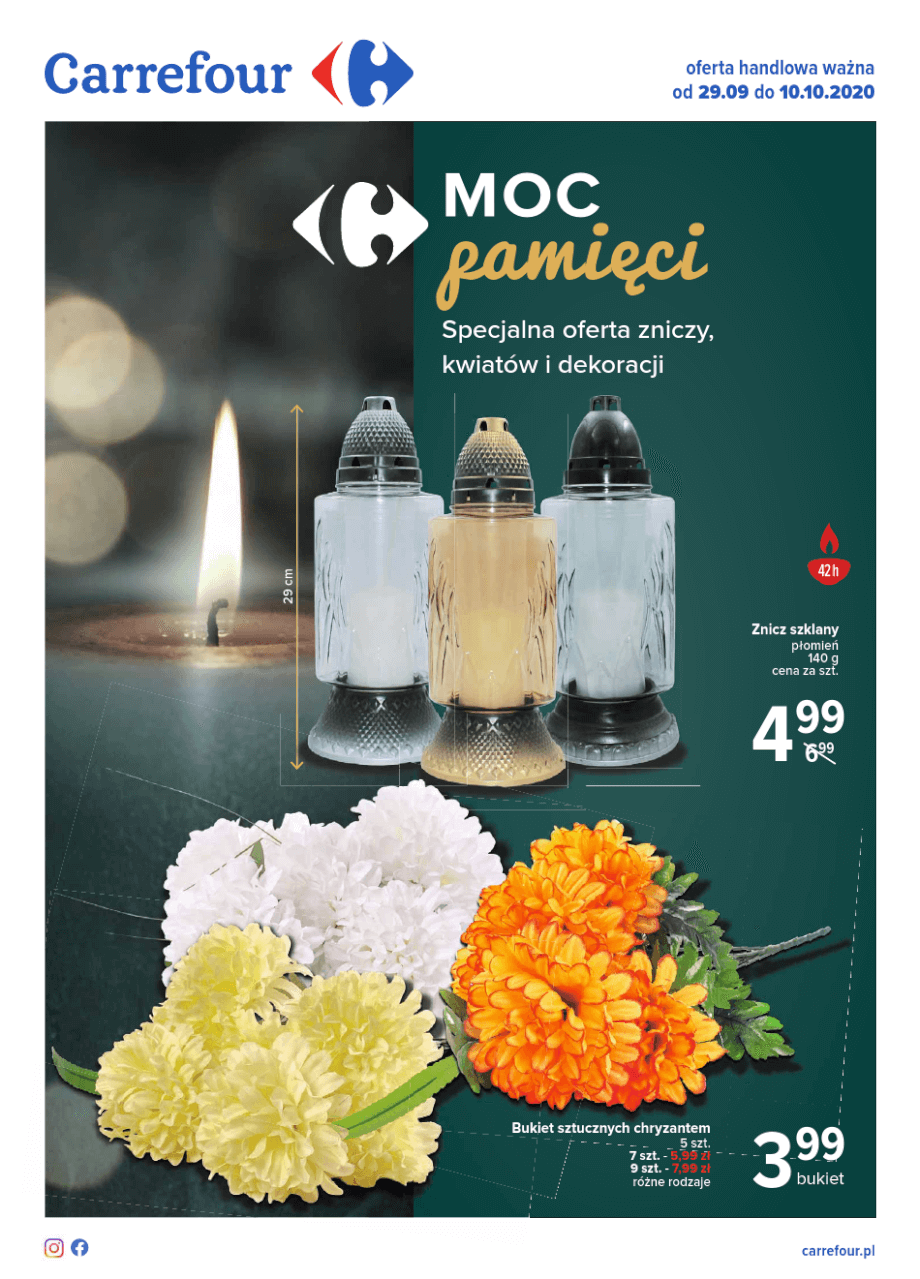 Carrefour, gazetka do 10.10.2020  s1