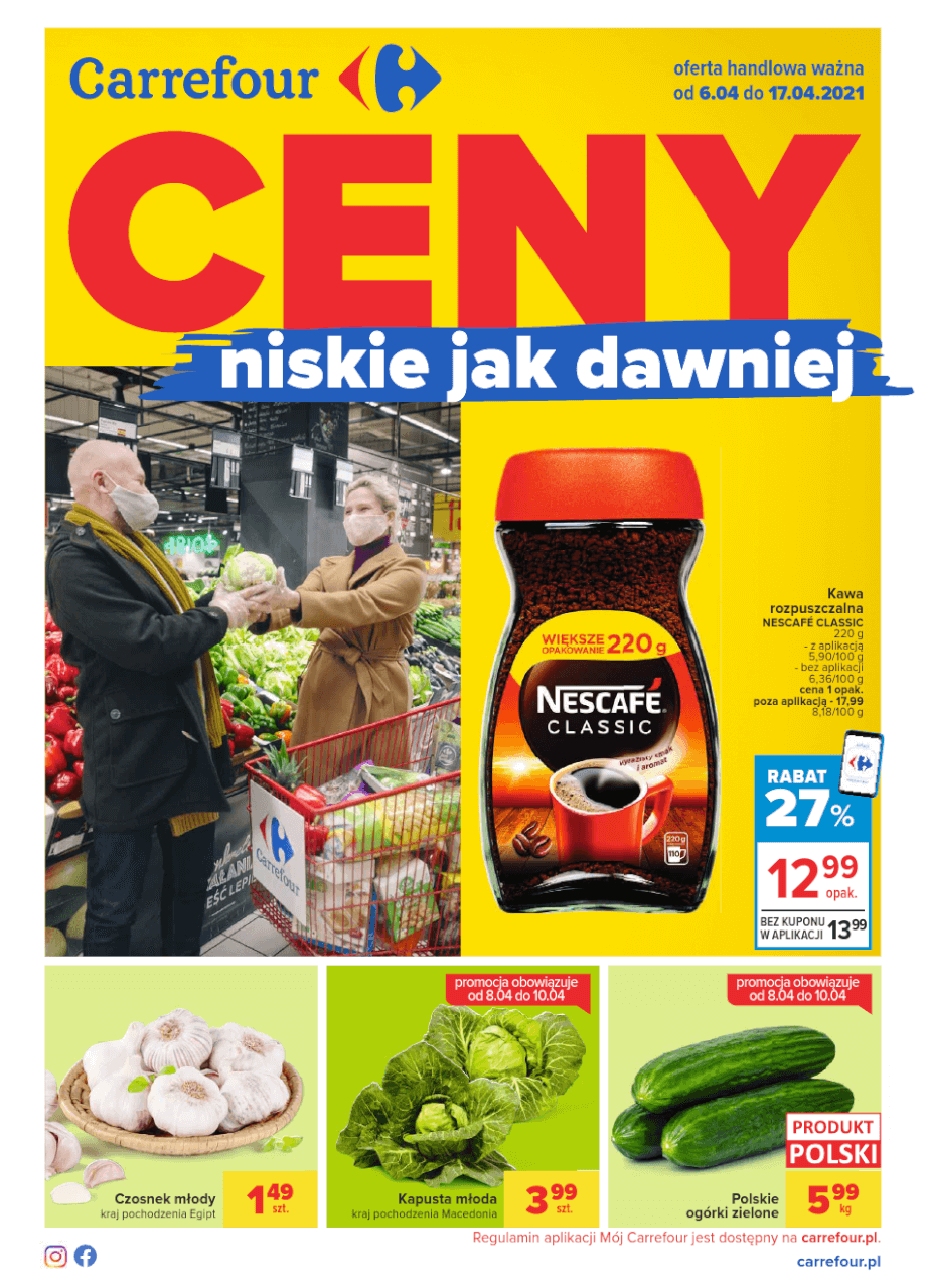 Carrefour, gazetka do 17.04.2021  s1