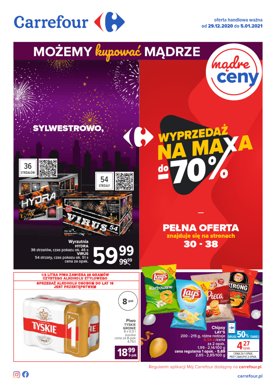 Carrefour, gazetka do 05.01.2021  s1
