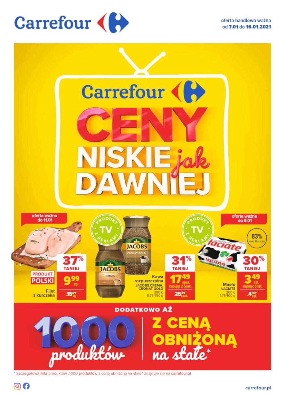 Carrefour, gazetka do 16.01.2021  s1
