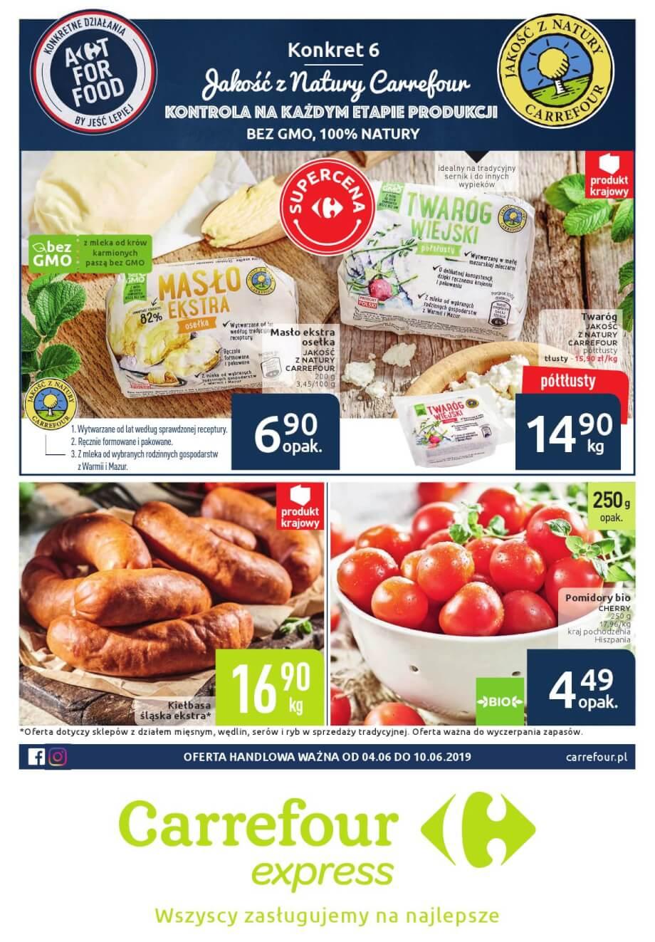Carrefour Express, gazetka do 10.06.2019  s1