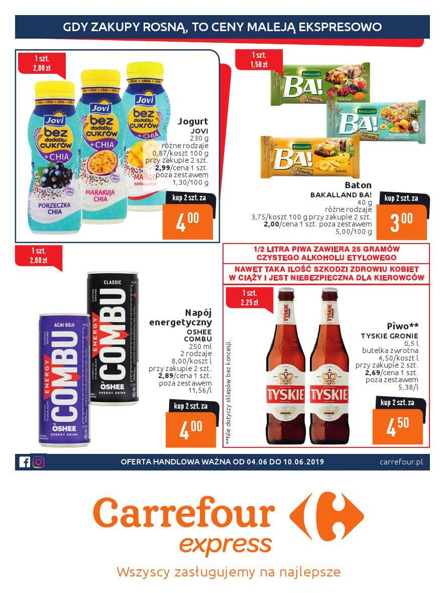 Carrefour Express, gazetka do 10.06.2019  s1