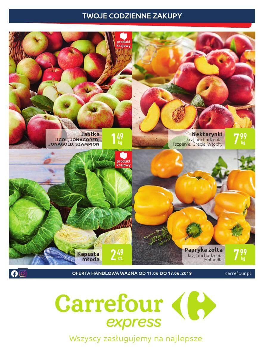 Carrefour Express, gazetka do 17.06.2019  s1