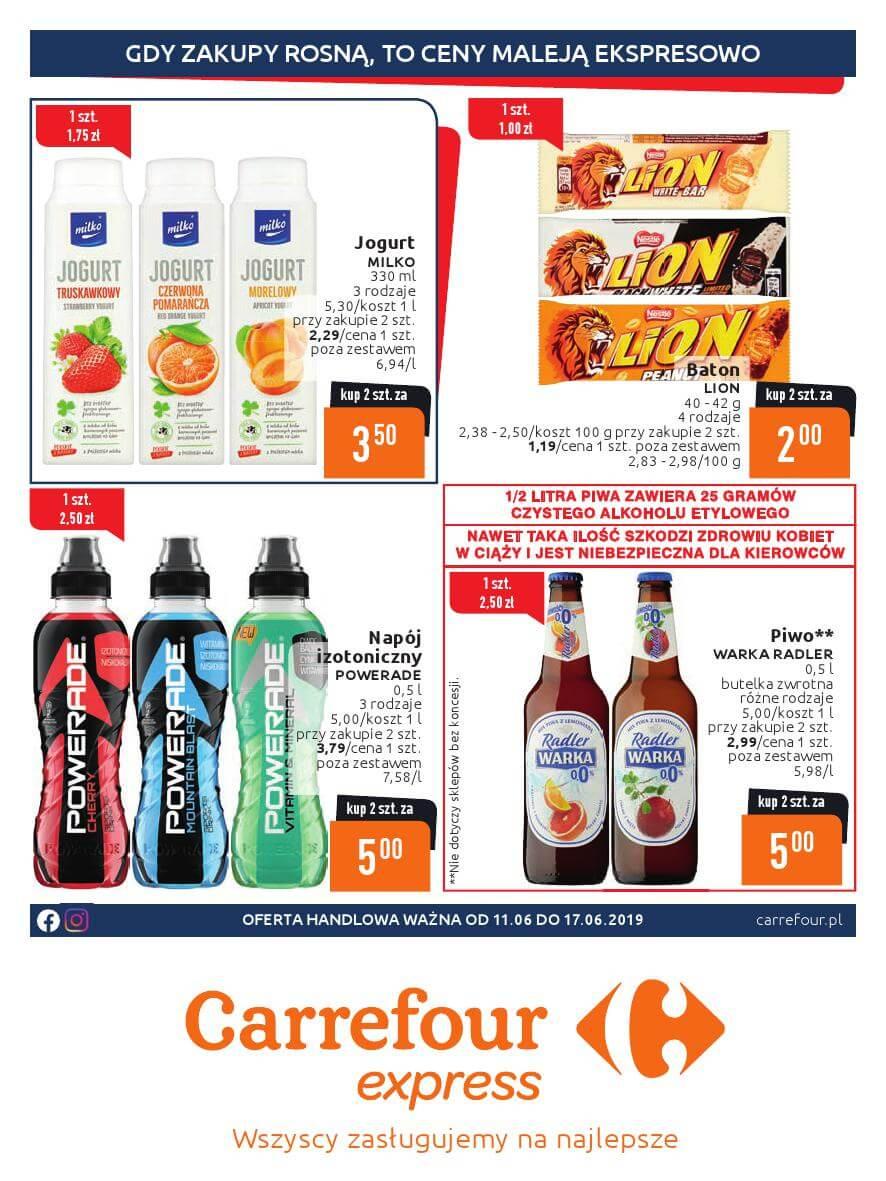 Carrefour Express, gazetka do 17.06.2019  s1