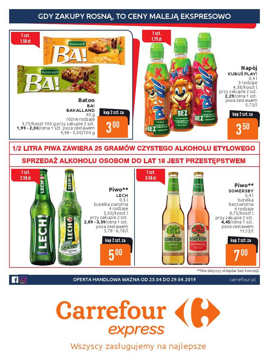 Carrefour Express, gazetka do 29.04.2019  s1