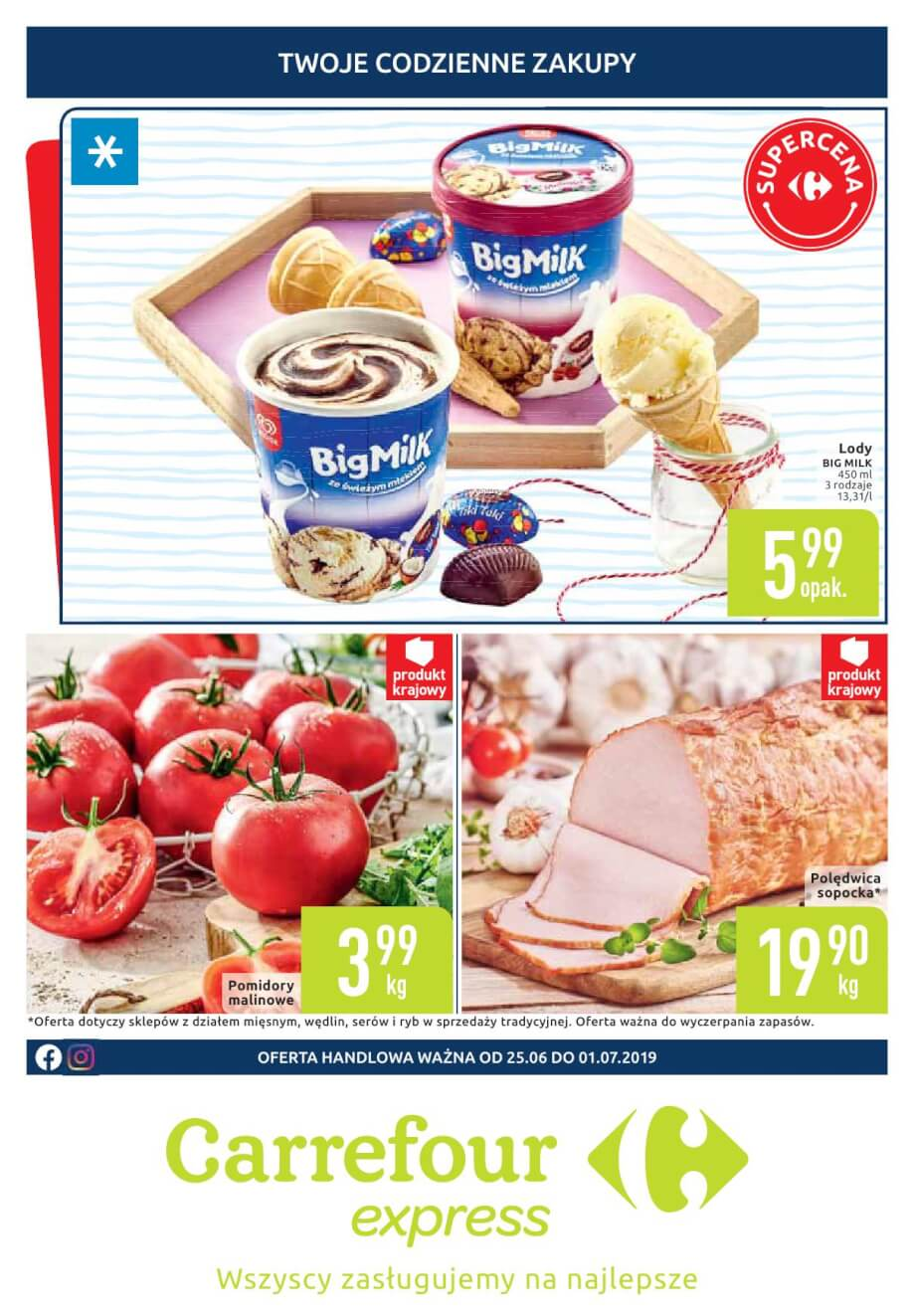 Carrefour Express, gazetka do 01.07.2019  s1