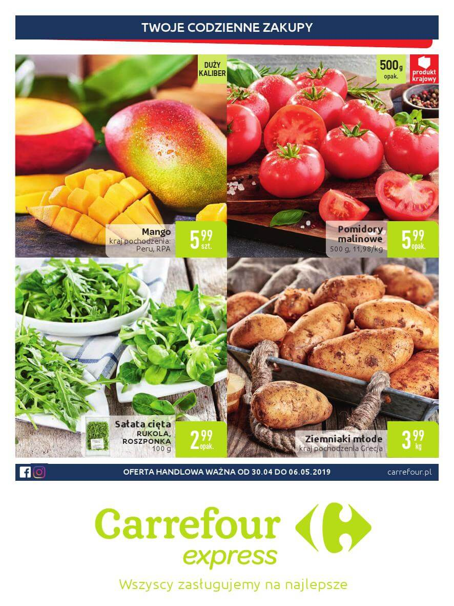 Carrefour Express, gazetka do 06.05.2019  s1