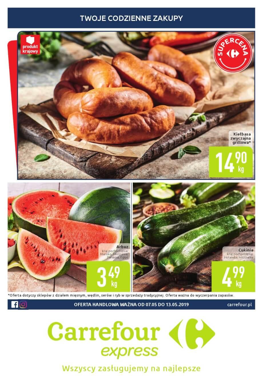 Carrefour Express, gazetka do 13.05.2019  s1