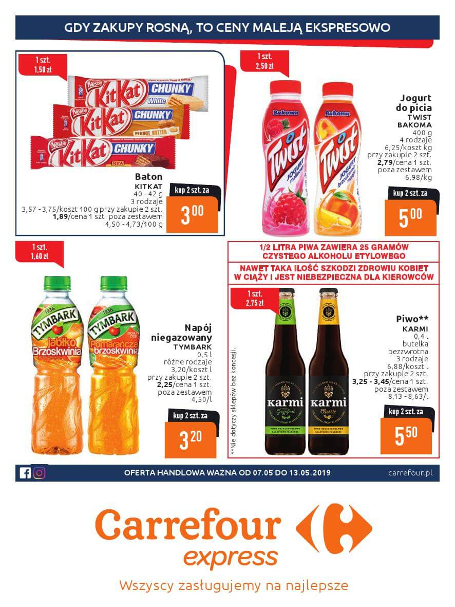 Carrefour Express, gazetka do 13.05.2019  s1
