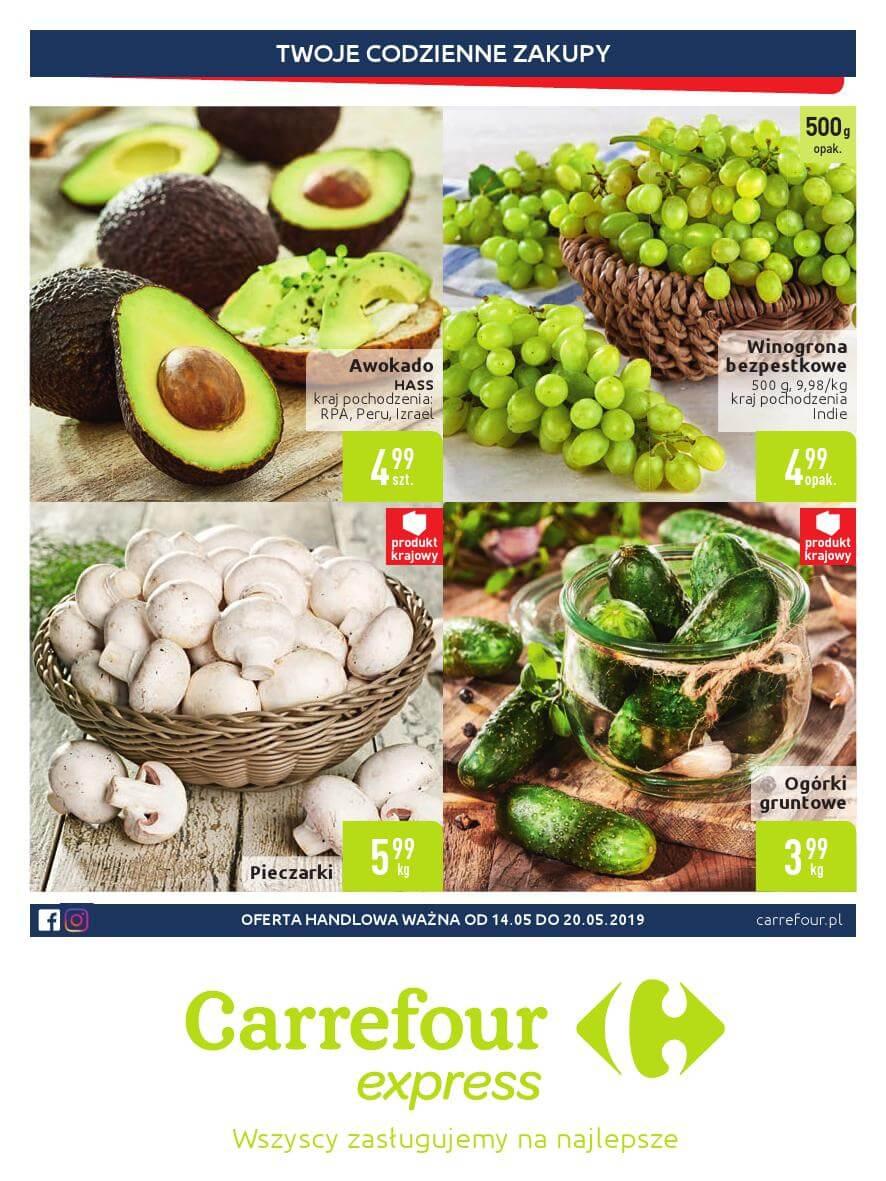 Carrefour Express, gazetka do 20.05.2019  s1