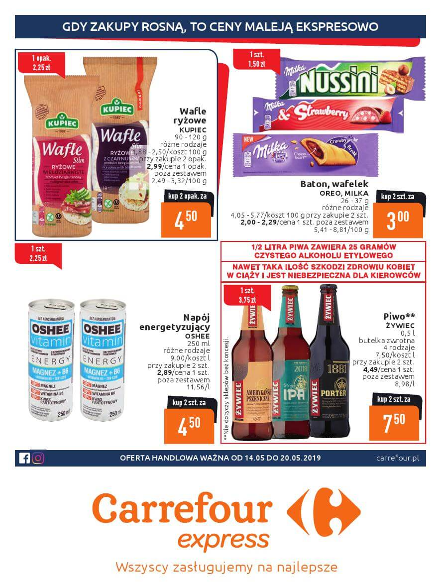Carrefour Express, gazetka do 20.05.2019  s1