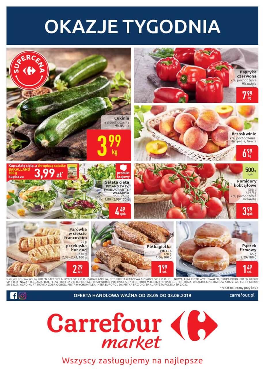 Carrefour Market, gazetka do 03.06.2019  s1