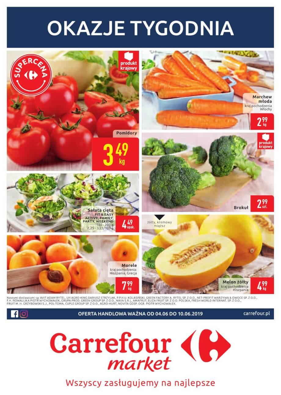Carrefour Market, gazetka do 10.06.2019  s1