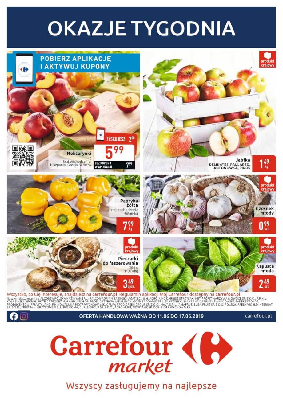 Carrefour Market, gazetka do 17.06.2019  s1