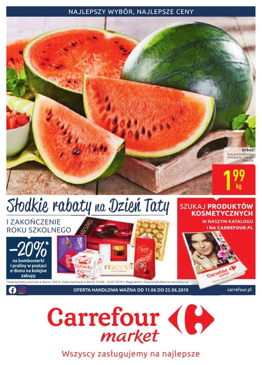 Carrefour Market, gazetka do 22.06.2019  s1