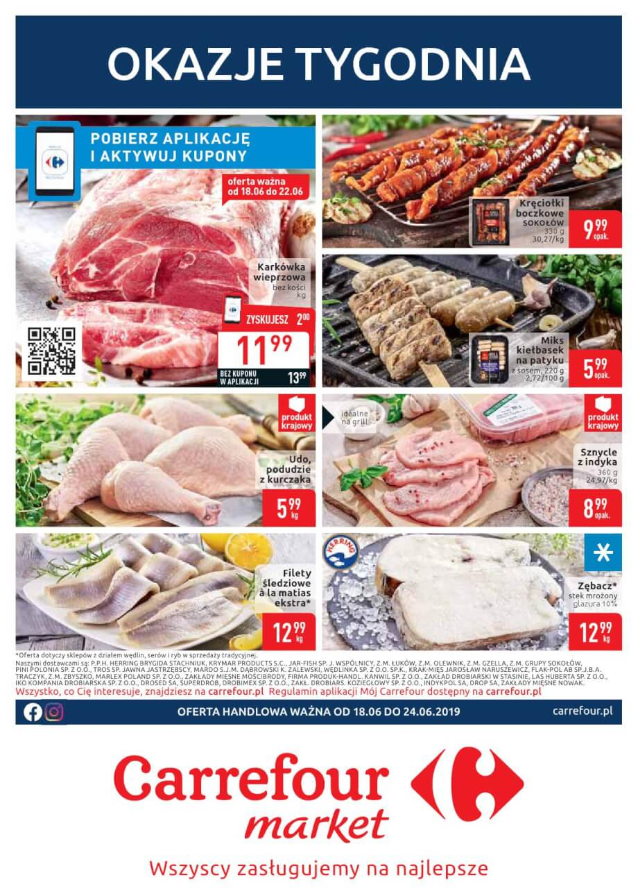 Carrefour Market, gazetka do 24.06.2019  s1