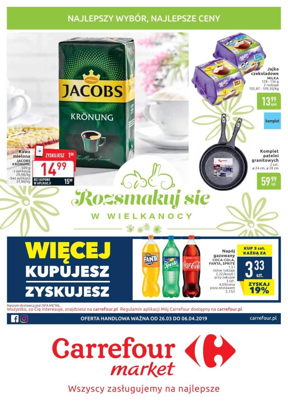Carrefour Market, gazetka do 06.04.2019  s1