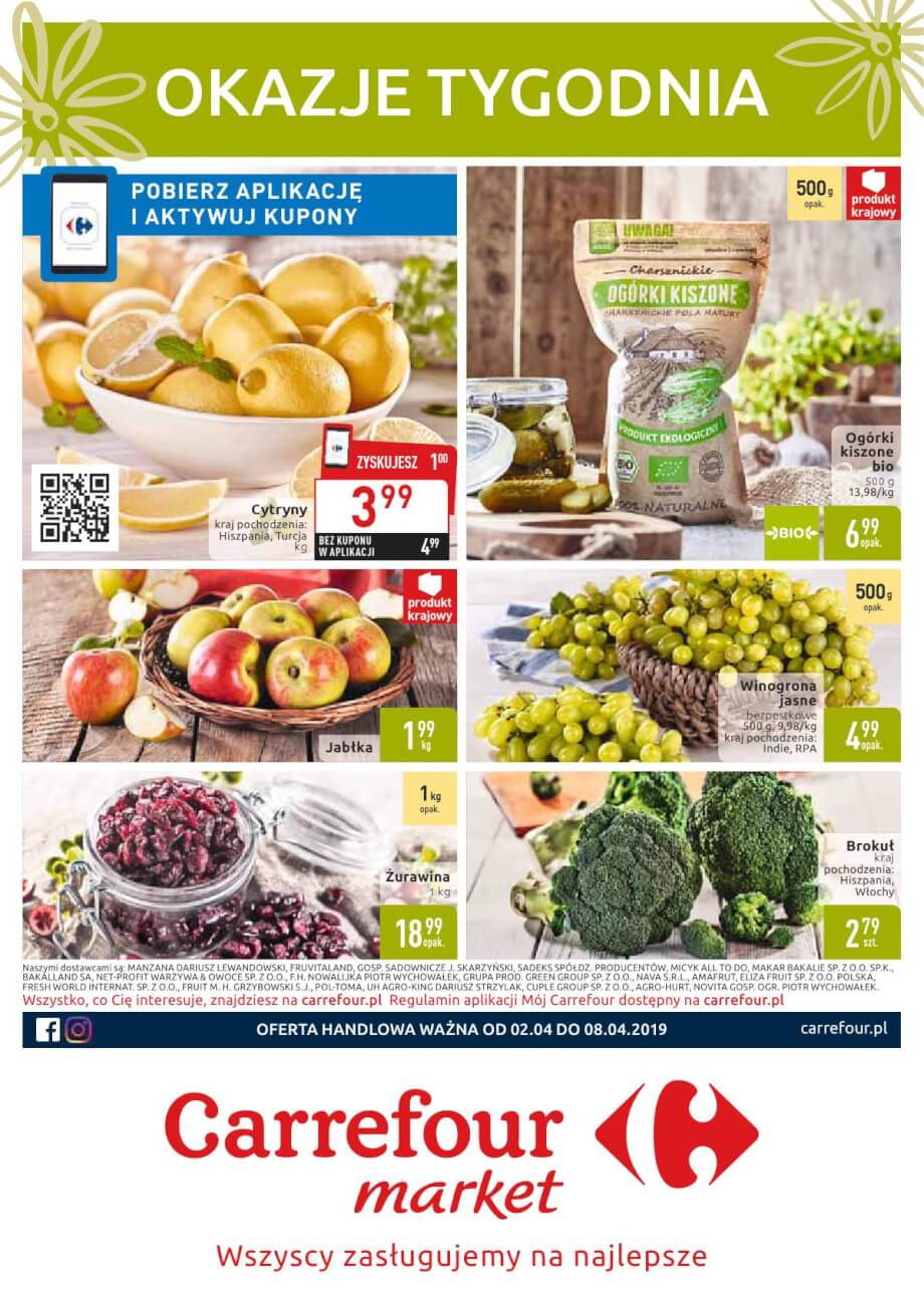 Carrefour Market, gazetka do 08.04.2019  s1