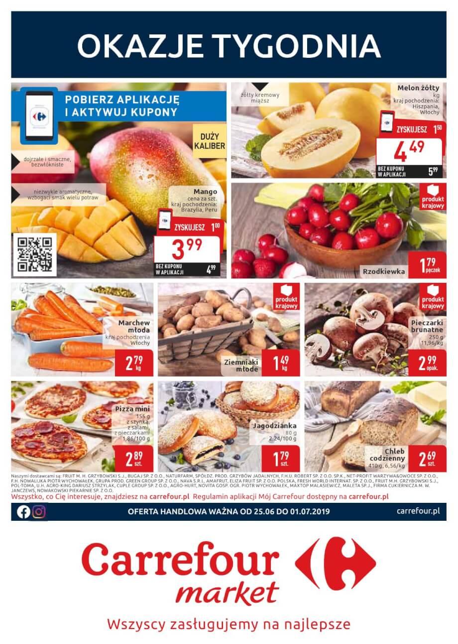 Carrefour Market, gazetka do 01.07.2019  s1