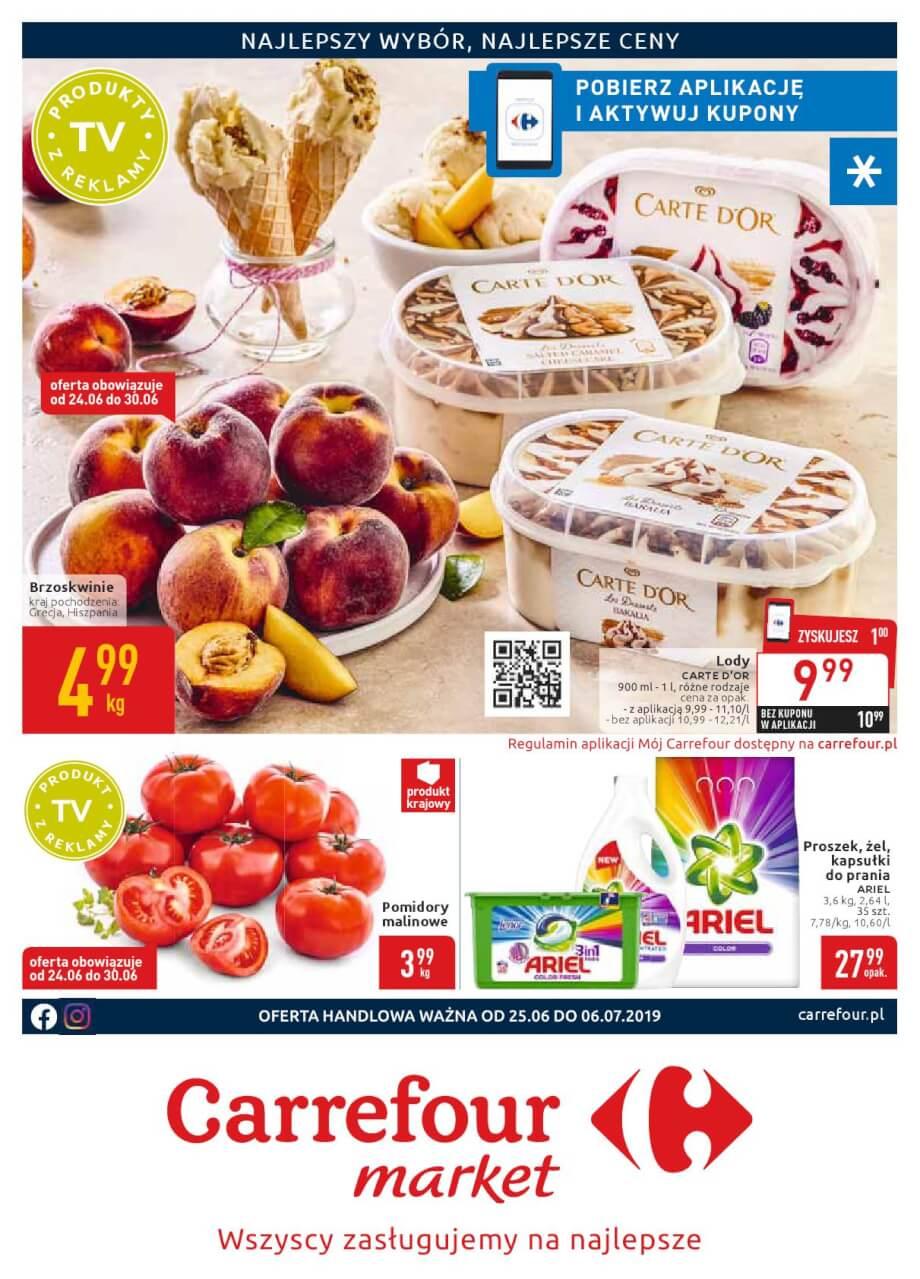 Carrefour Market, gazetka do 06.07.2019  s1