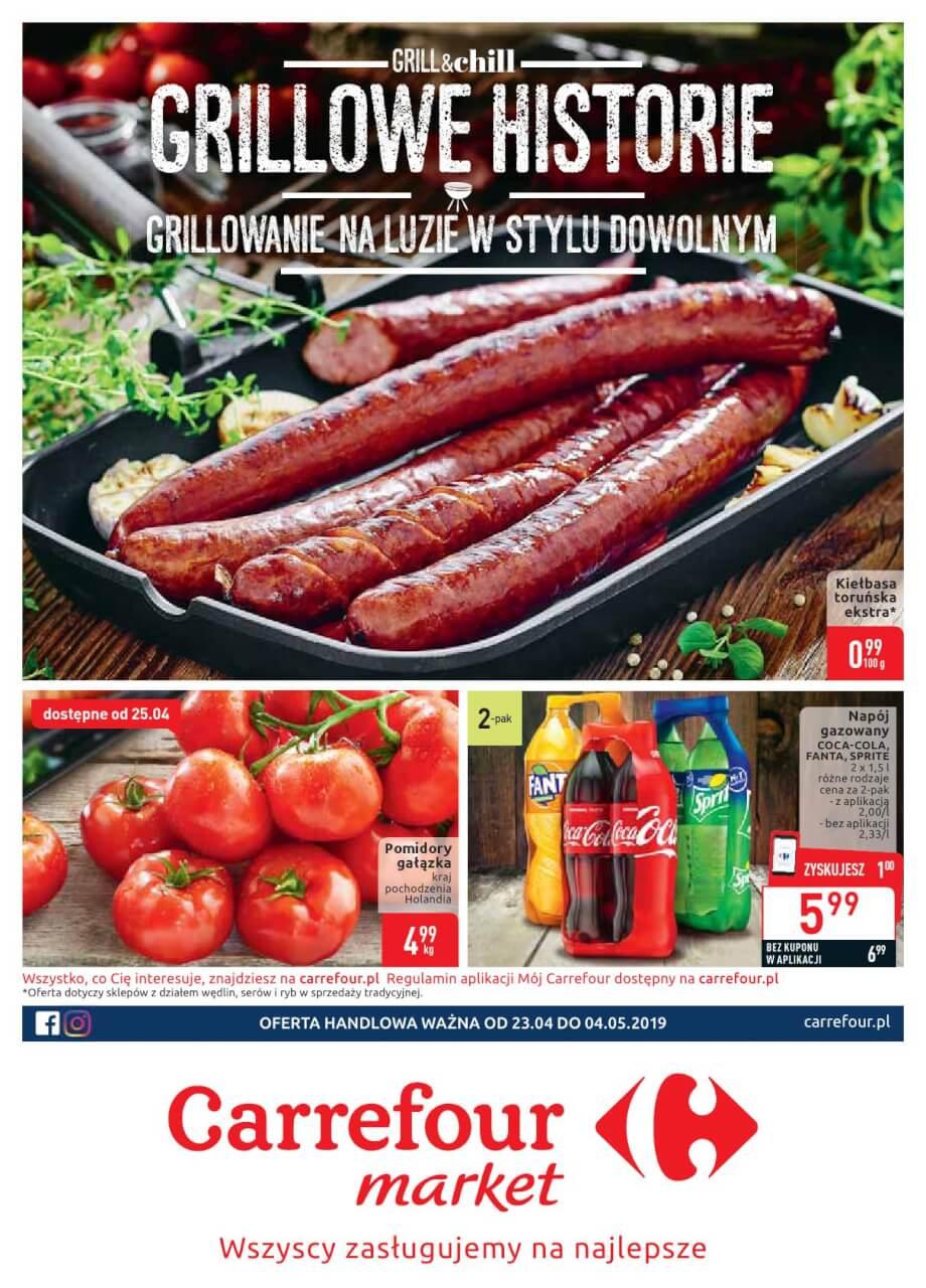 Carrefour Market, gazetka do 04.05.2019  s1