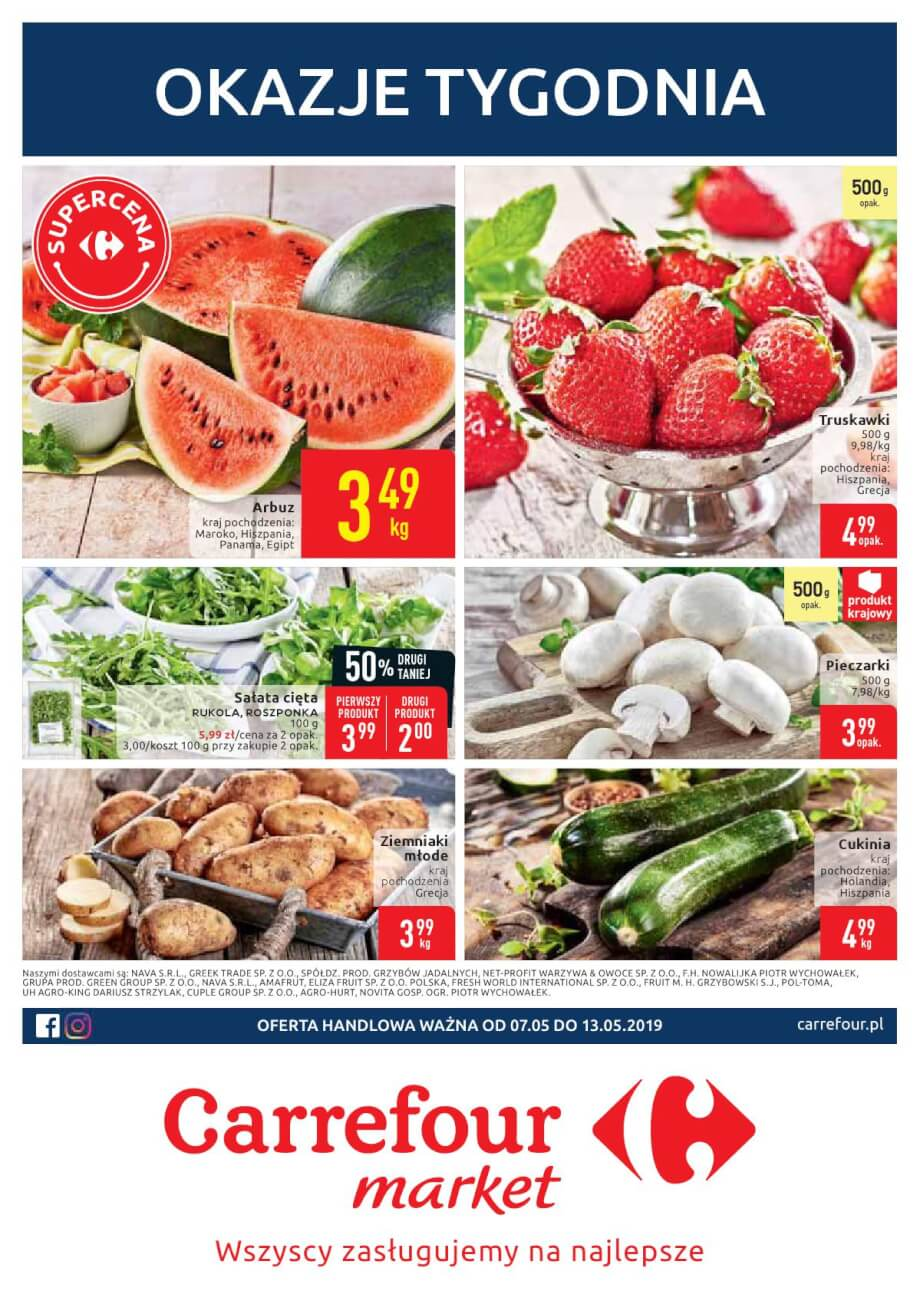 Carrefour Market, gazetka do 13.05.2019  s1