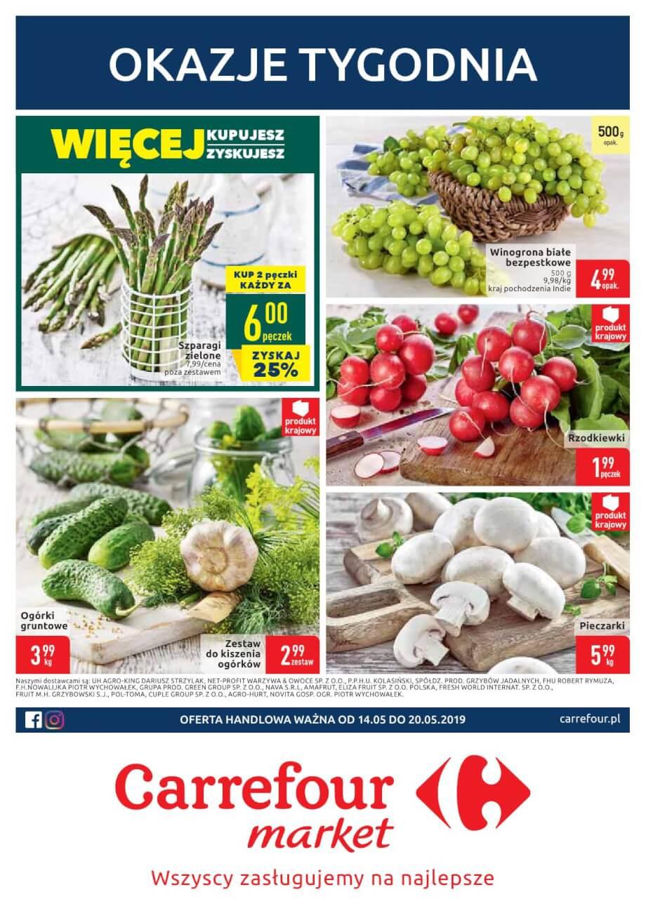 Carrefour Market, gazetka do 20.05.2019  s1