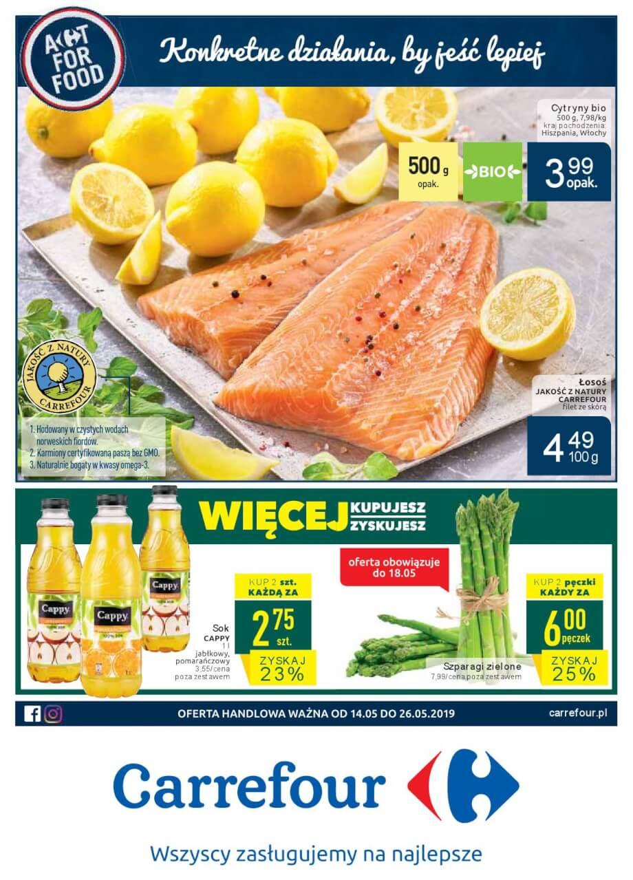 Carrefour, gazetka do 26.05.2019  s1