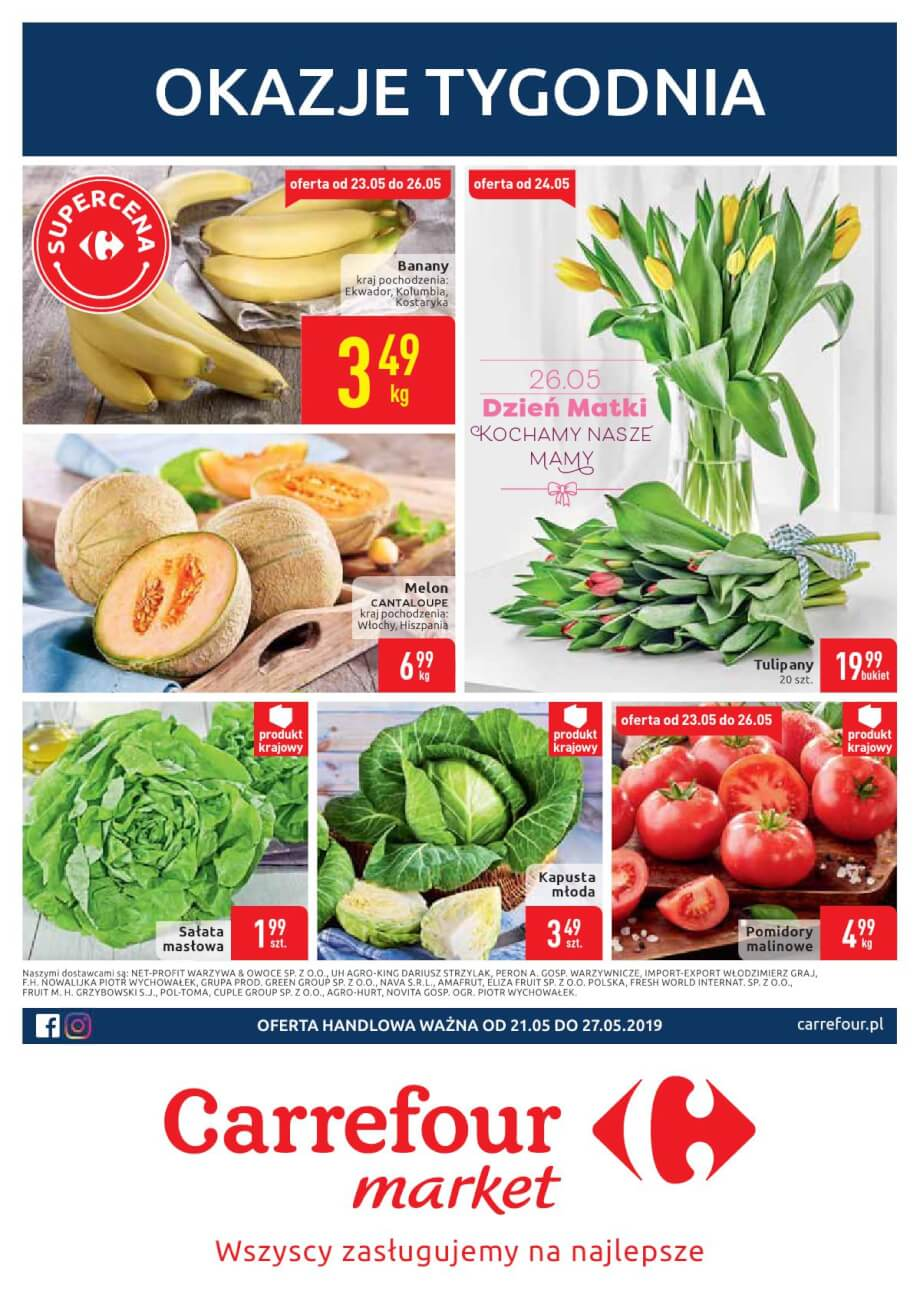 Carrefour Market, gazetka do 27.05.2019  s1