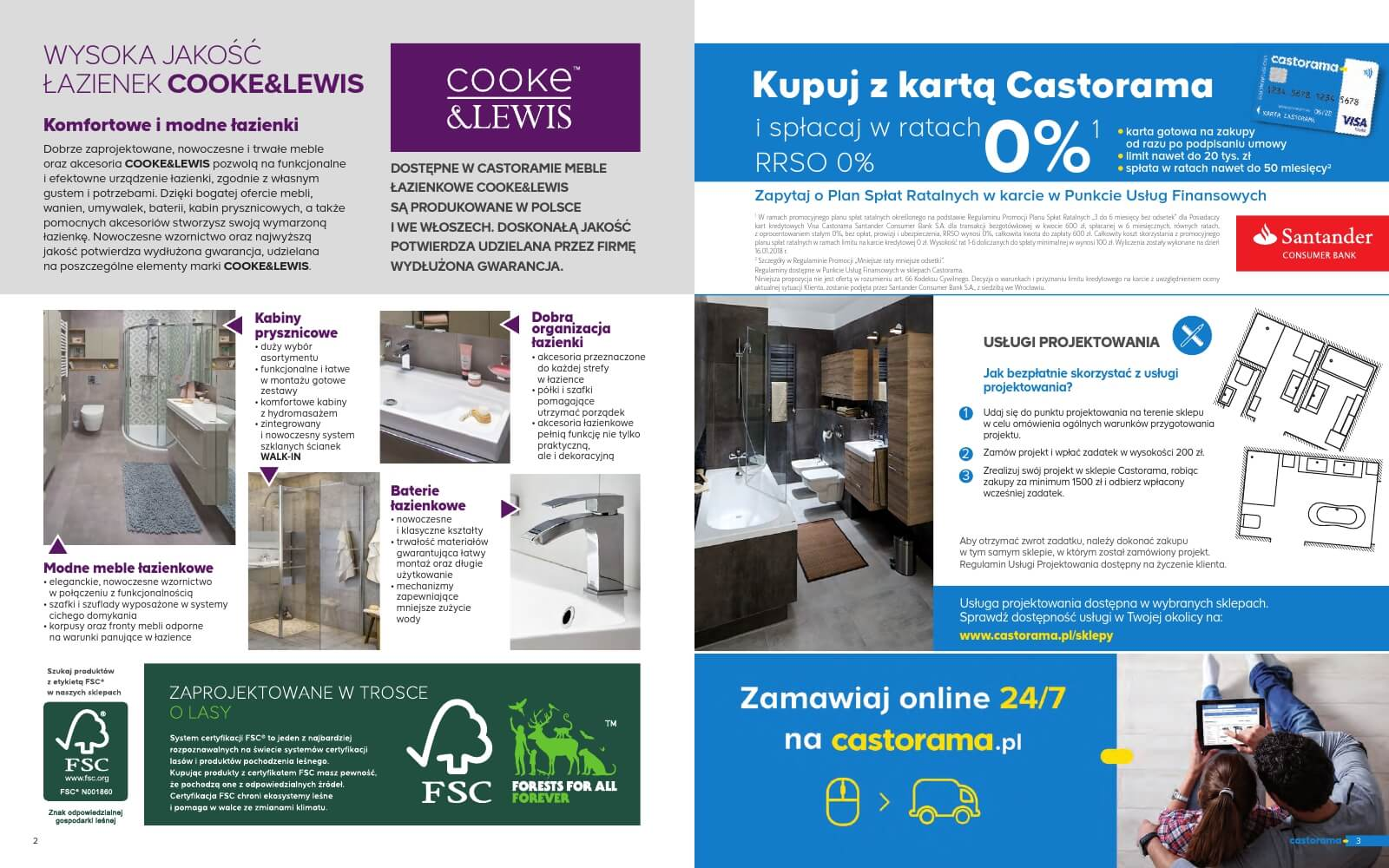 Castorama Katalog łazienka 2018 Str2
