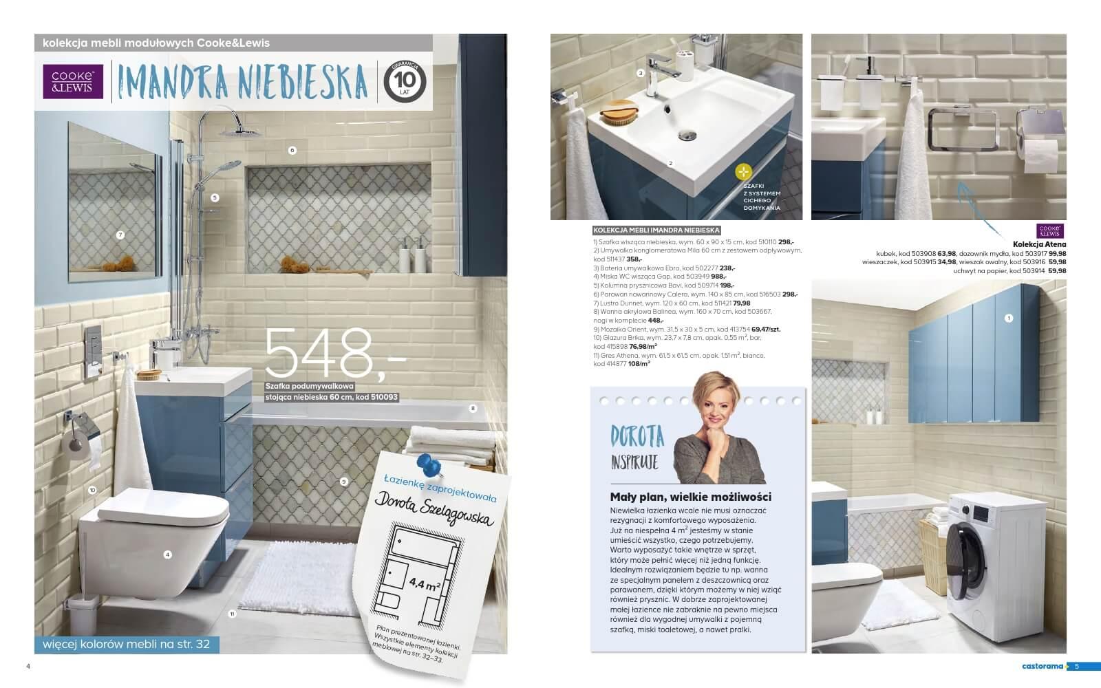 Castorama Katalog łazienka 2018 Str3