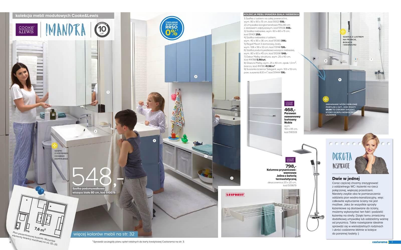 Castorama Katalog łazienka 2018 Str4