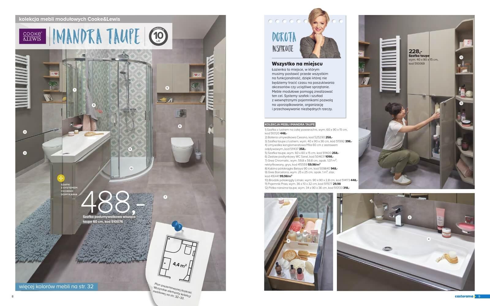 Castorama Katalog łazienka 2018 Str5