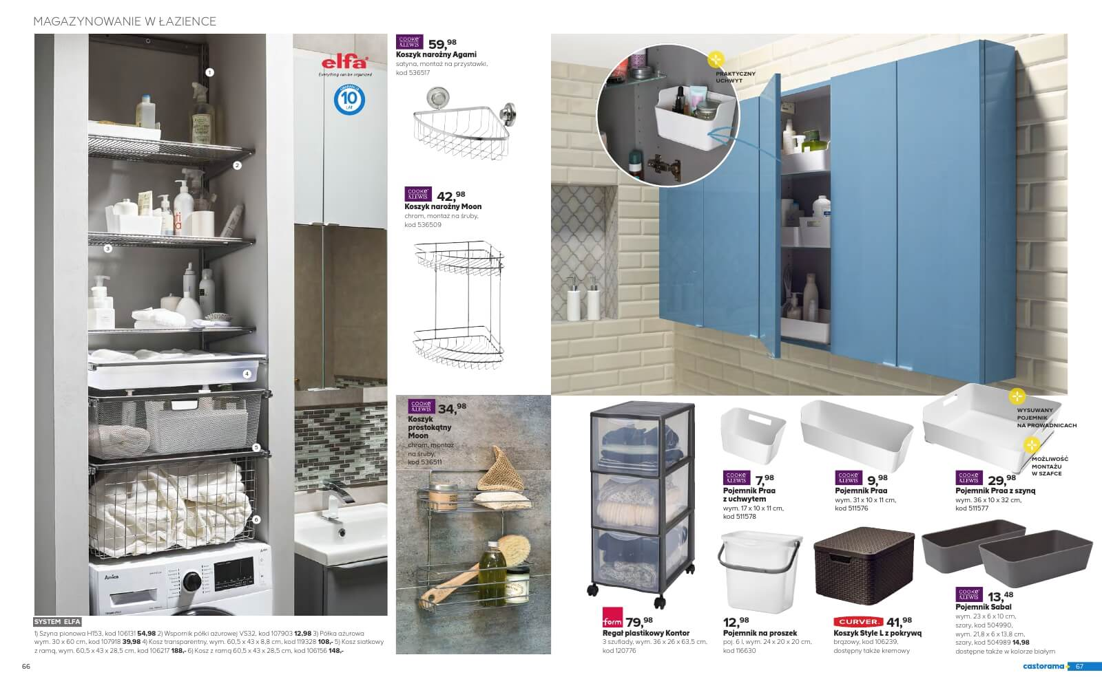 Castorama Katalog łazienka 2018 Str34