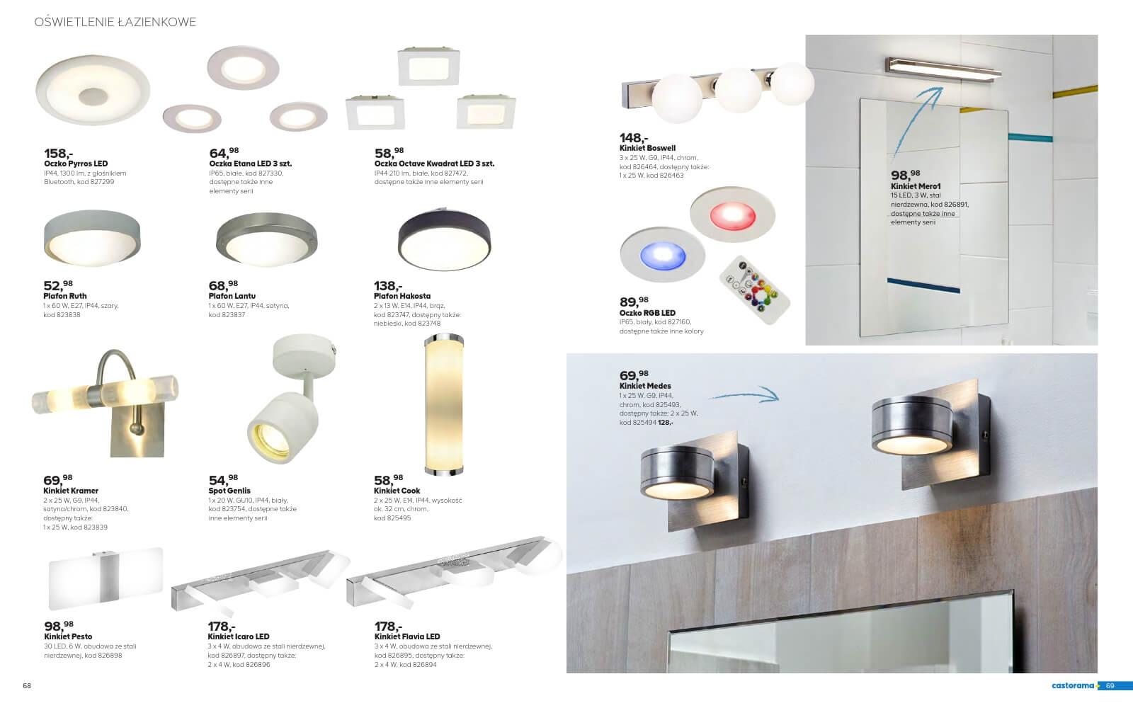Castorama Katalog łazienka 2018 Str35