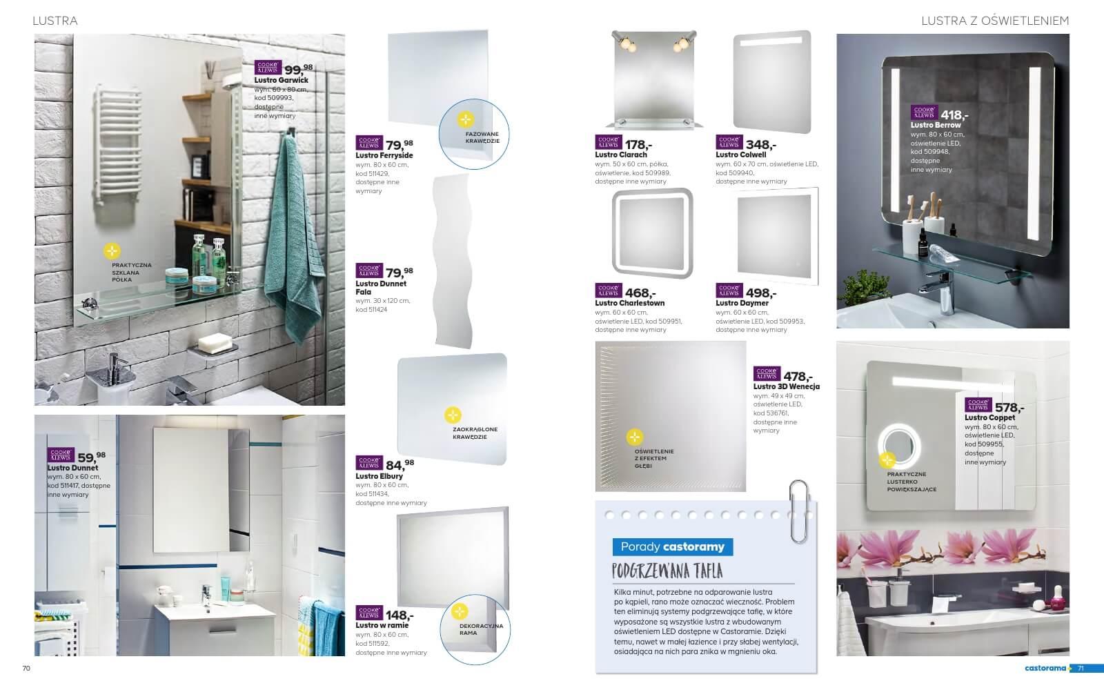 Castorama Katalog łazienka 2018 Str36
