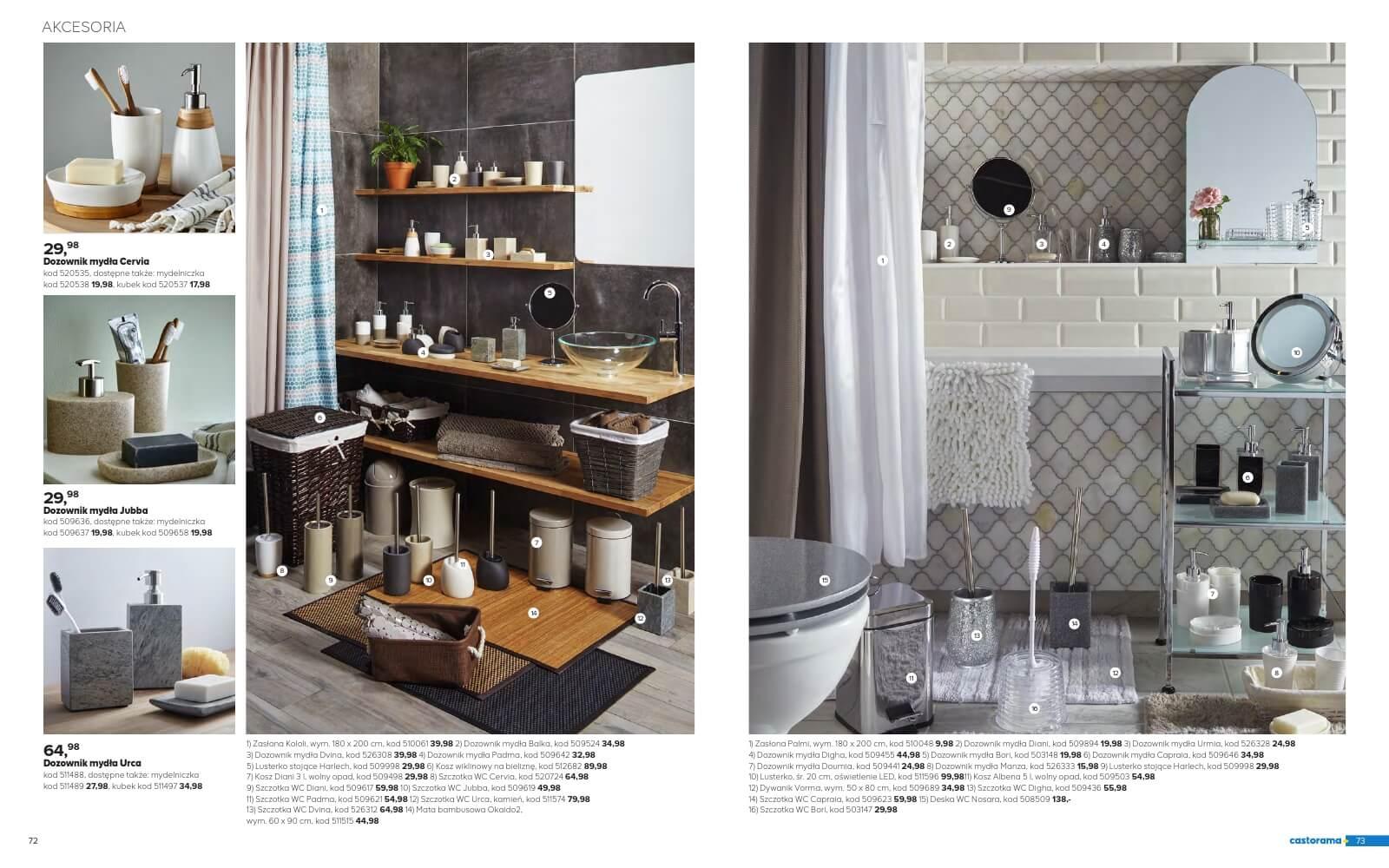Castorama Katalog łazienka 2018 Str37
